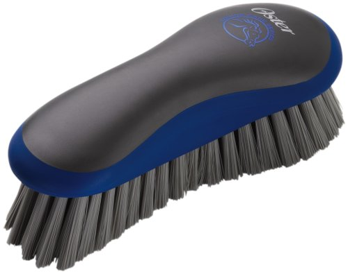 Equine Care Grooming Tools Series (Oster Equine Care Series Grooming Brush, Medium Bristle, Synthetic, Blue)