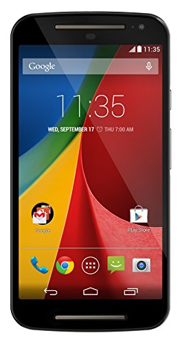 Motorola Moto G (2nd generation) Unlocked Cellphone, 8GB, Black (Unlocked Phone 2014 Moto X)