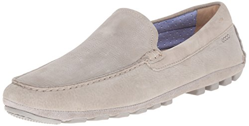 ECCO Men's Summer Moc Slip-On Loafer, Wild Dove, 46 EU/12-12.5 M US by ECCO