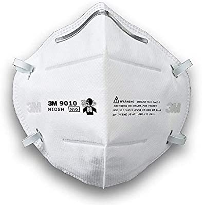 3m 9010 N95 Disposable Respirator Face Mask Particulate