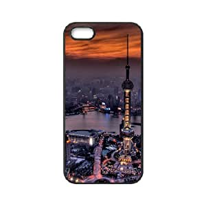 Iphone 5/5s Cover Case Building