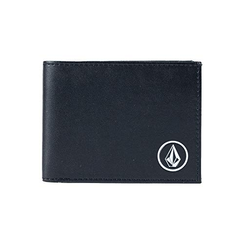 - Volcom Men's Corps Wallet, Black, One Size