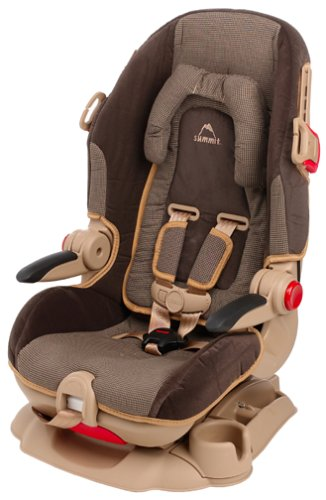 Amazon Cosco Summit High Back Booster Seat Mocha Child