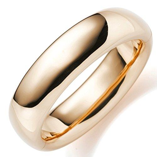 Les bracelets bracelet 19.5 mm en or 585 or lisse brillant