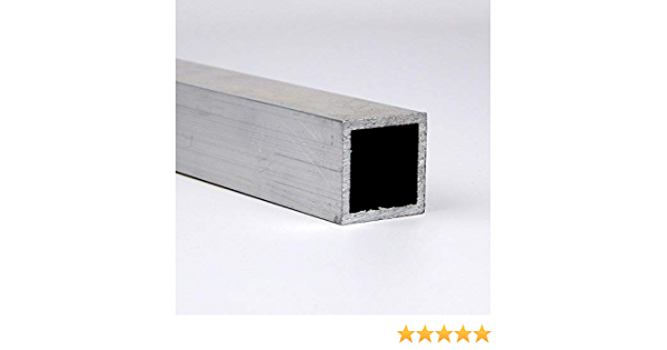 72 Length 6061 Aluminum I-Beam Extruded Temper 4-1//2 Leg Lengths 0.38 Wall Thickness Mill Finish Equal Leg Length Unpolished ASTM B221 Squared Corners 7 Width