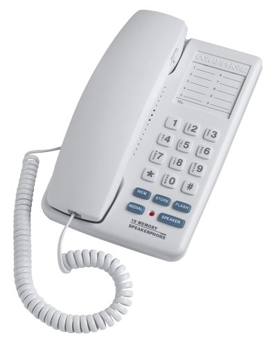 - Conair SW322WCS Compact Speakerphone with Memory Dialing (White)
