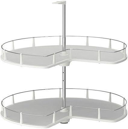 Ikea Utrusta Corner Base Cabinet Carousel 88 Cm Amazon Co Uk Kitchen Home
