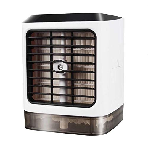 Wictoka Portable Mini Air Conditioning Fan Household Refrigerator Desktop Cooler in Dormitory Simple Product, No Water Chestnut Appearance, No Screw Design