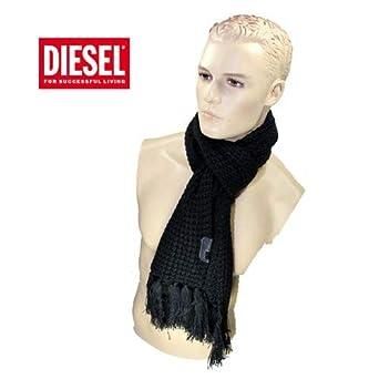 Diesel ECHARPE GROSSE MAILLE PEGASO NOIR  Amazon.fr  Vêtements et ... d23d29195a7