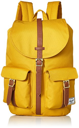 Herschel Dawson Backpack, Deep Teal/Tan Synthetic Leather, One Size