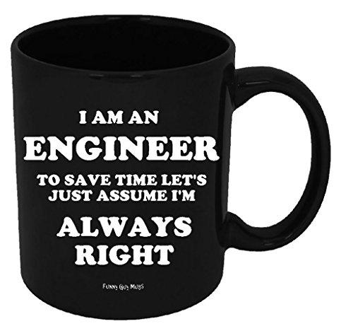 Funny Guy Mugs I Am An Engineer To Save