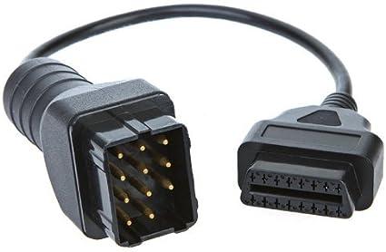 RENAULT Adaptateur pour v/éhicules 12/broches sur 16/broches m/âle OBD sur OBD2/connecteur m/âle