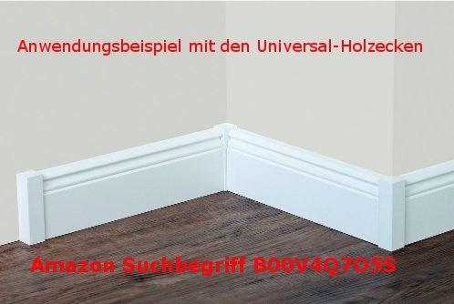 ogee // MDF plax/é // 719.096 12,5 m/ètre S/üdbrock Plinthe Wiesbaden blanc