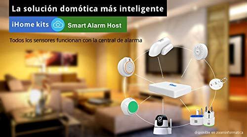 Alarma Hogar WiFi Grabador NVR Detectores Camara de ...
