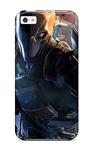 Hot Defender Case For Iphone 5c, Deathstroke Pattern 4284045K39066437