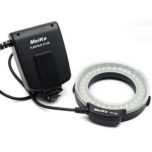 Meike  FC-100 Macro Ring Flash/Light for Nikon (Nikon Ring Light)