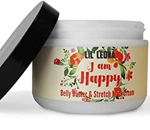 Lil Leona Pregnancy Cream For Stretch Marks: Made with Shea Butter and Vitamin E - 8 oz
