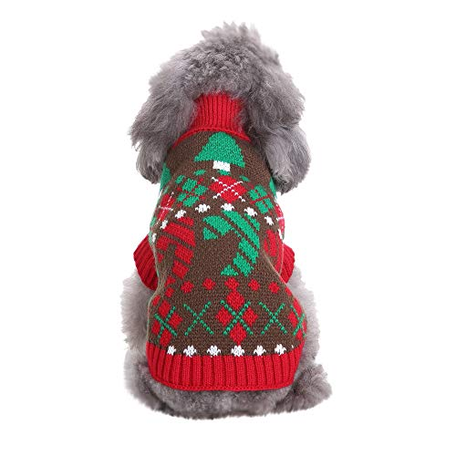 Dog Sweaters KnitwearArgyle Sweater for Puppy
