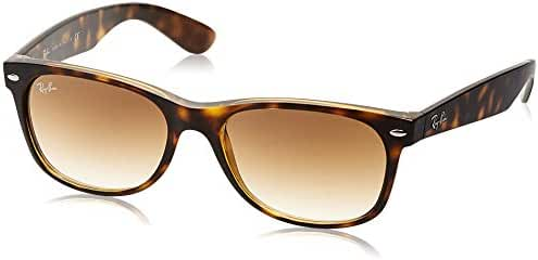 Ray-Ban RB2132 New Wayfarer Unisex Non-Polarized Sunglasses