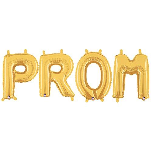 (Stumps Gold Prom Balloon)