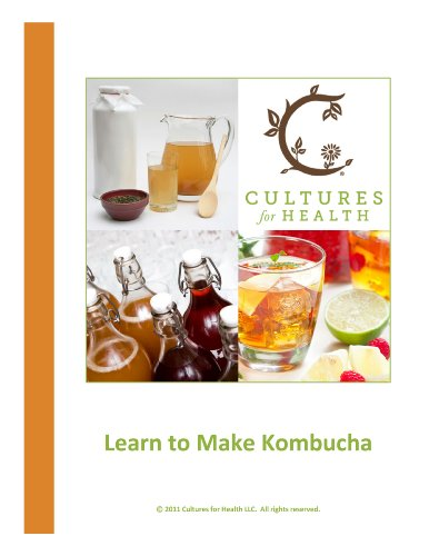 Learn to Make Kombucha by Cultures for Health
