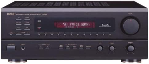 Denon DRA-685 Multi-Source Multi-Zone AM FM Stereo Receiver Discontinued by Manufacturer