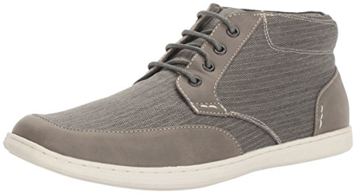 Steve Madden Mens Landor Fashion Sneaker Grey Fabric