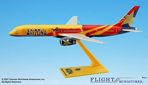 - light Miniatures America West Arizona State Livery Boeing 757-200 1:200 Scale