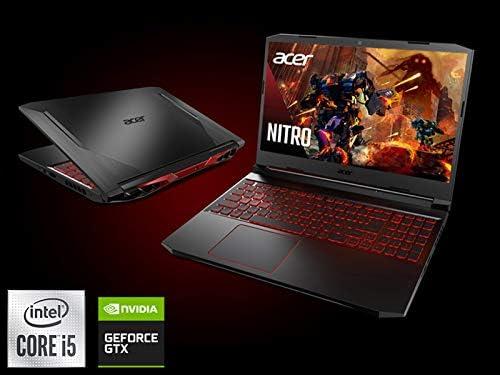 Acer Nitro 5 Gaming Laptop, 10th Gen Intel Core i5-10300H,NVIDIA GeForce GTX 1650 Ti, 15.6″ Full HD IPS 144Hz Display, 8GB DDR4,256GB NVMe SSD,WiFi 6, DTS X Ultra,Backlit Keyboard,AN515-55-59KS 41H77pslRAL