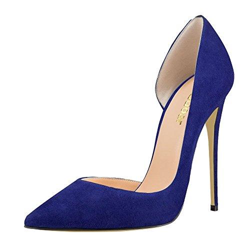 Guoar - Cerrado Mujer - A-Blau Samt