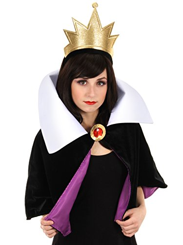 Evil Queen Costume Snow White (Disney's Snow White Evil Queen Headband Crown and Collar Kit by elope)