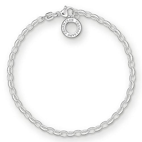 THOMAS SABO Damen Charm-Armband Charm Club 925 Sterling Silber