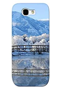 Brand New Note 2 Defender Case For Galaxy (frost Nature)