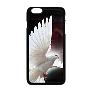 Shining Pure White Bird Hot Seller High Quality Case Cove For Iphone Plaus
