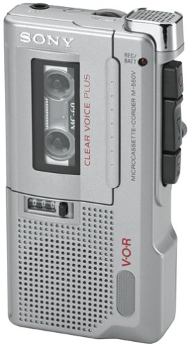 Sony M-560V Microcassette Voice Recorder by Sony