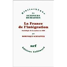 FRANCE DE L'INTÉGRATION