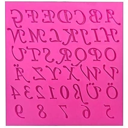Amazon com: Zoomy far: English alphanumeric Shape findant mold