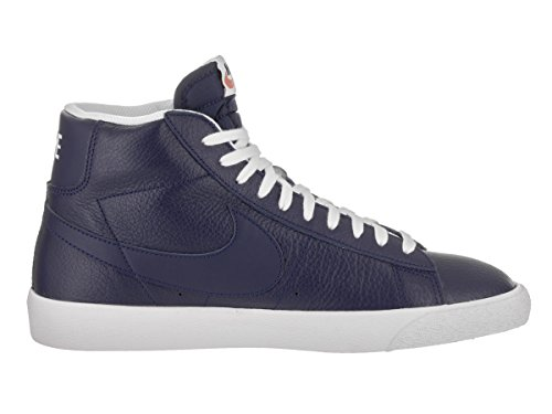 NIKE Mens Blazer Mid PRM Casual Shoe Binary Blue/White/Black nFK1aFU