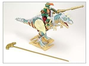 Teenage Mutant Ninja Turtles Dino Runner Aliosaurus w/ Michelangelo