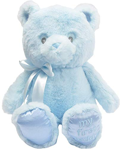 Linzy Plush 9'' Blue My First Teddy ()