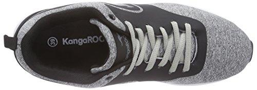 KangaROOS KangaCore 2106 - zapatilla deportiva de material sintético Niños^Niñas gris - Grau (mid grey/black 251)