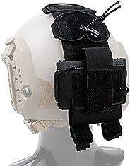 Tactical Helmet Pouch, MK2 Battery Box Counter Weight 500D Nylon Helmet Bag, Tactical Fast Helmet Accessories