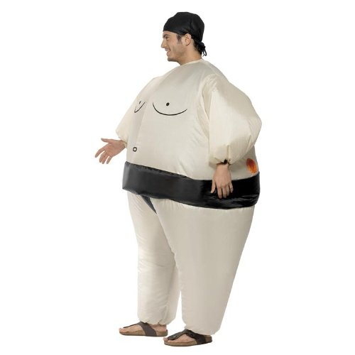 Sumo Wrestler Funny Adult Costume by Smiffy's