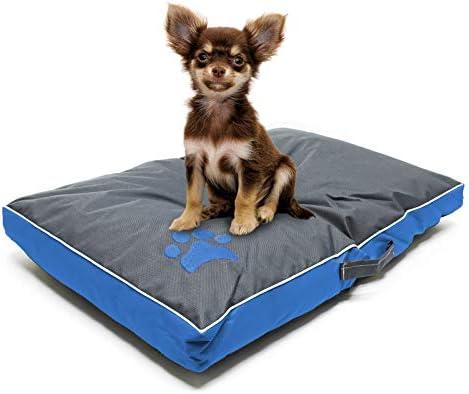 Cojín mascotas Outdoor Lavable XL Azul 105x65x8cm Cama perro ...