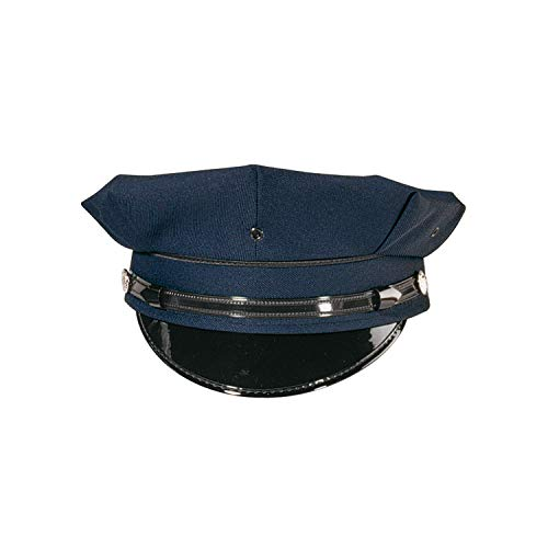 Police Badge Cap - Rothco 8 Point Police/Security Cap, Navy Blue, 7.75