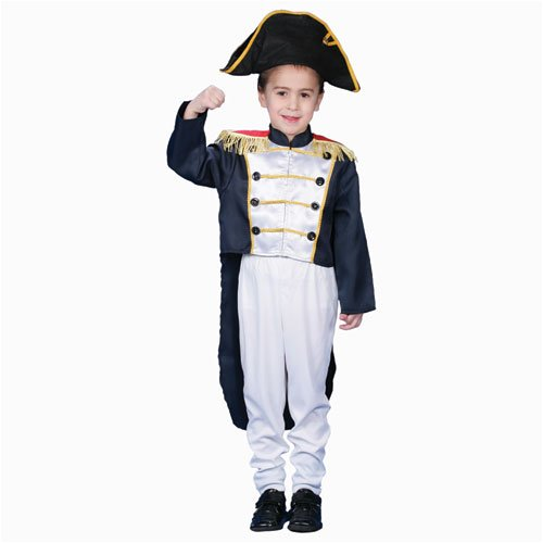 Historical Colonial General Dress up Costume Set - Large 12-14]()