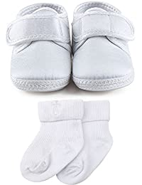 Baby Infant Satin Christening Baptism Shoes Bootie Slippers Sneakers