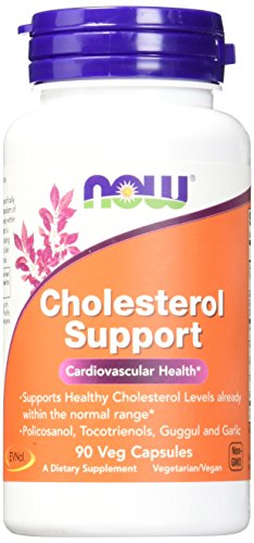 NOW Cholesterol Support Veg Capsules