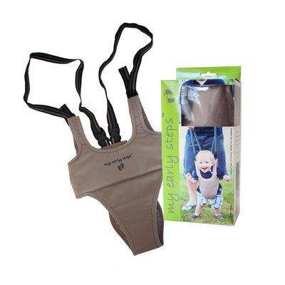 Little Dundi My Early Steps Learn to Walk Harness, Tan, One Size MESBW1-C2YCTN