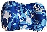 Inflatable Camping Pillow Ultralight Soft Beachy Pillows Collapsible Lunch Break Lumbar Pillow Press Inflatabl